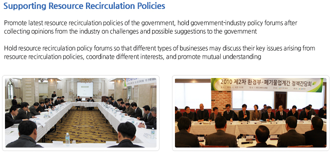 Supporting Resource Recirculation Policies
